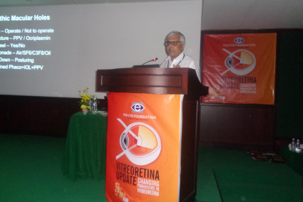 Dr Somdutt Prasad Speaking at the Event