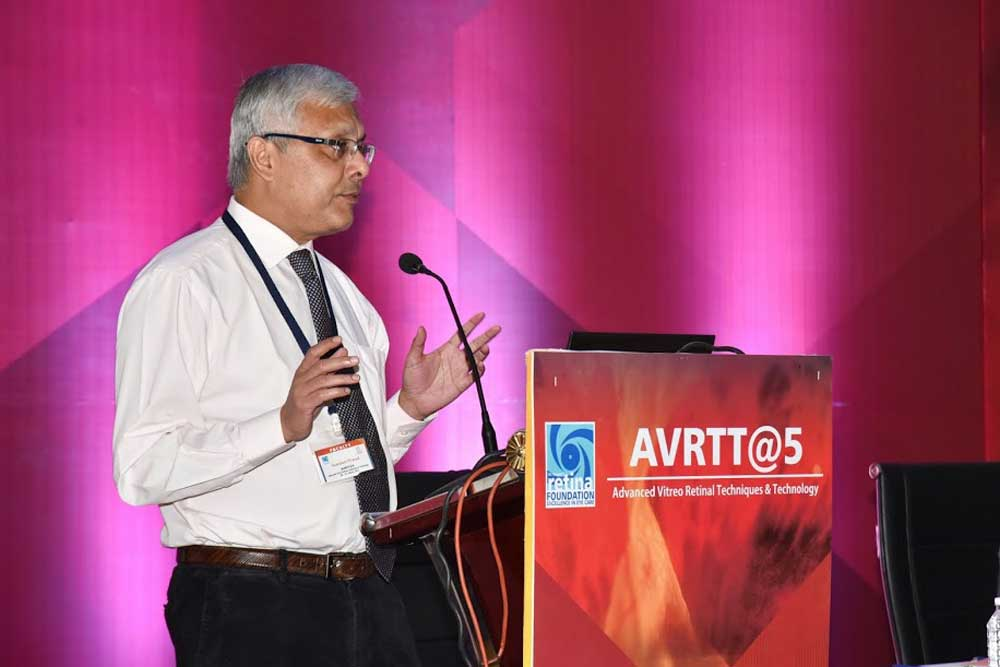 Dr Somdutt Prasad in the AVRTT Conference