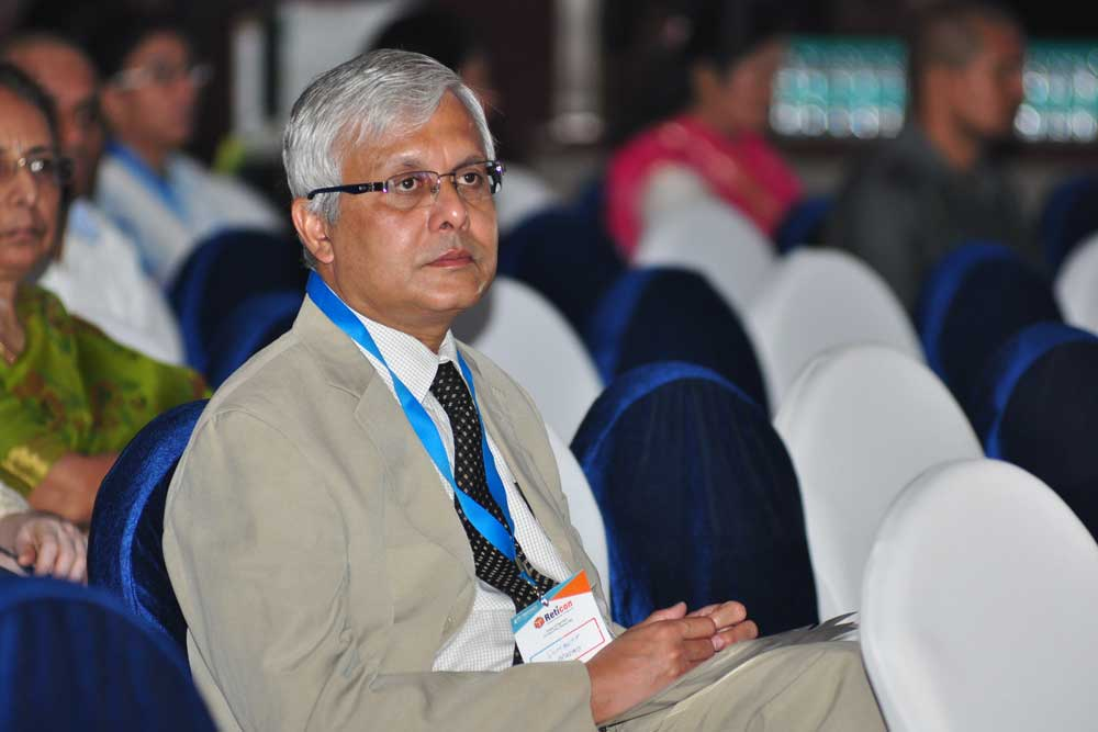 Dr Somdutt Prasad at Reticon 2016