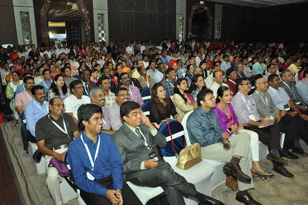 Audience at the IIRSI 2016 Event