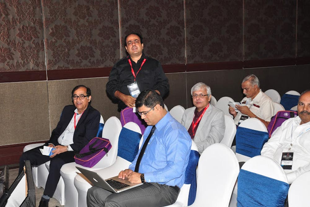 Dr Somdutt Prasad was also a Co-chairperson at the event