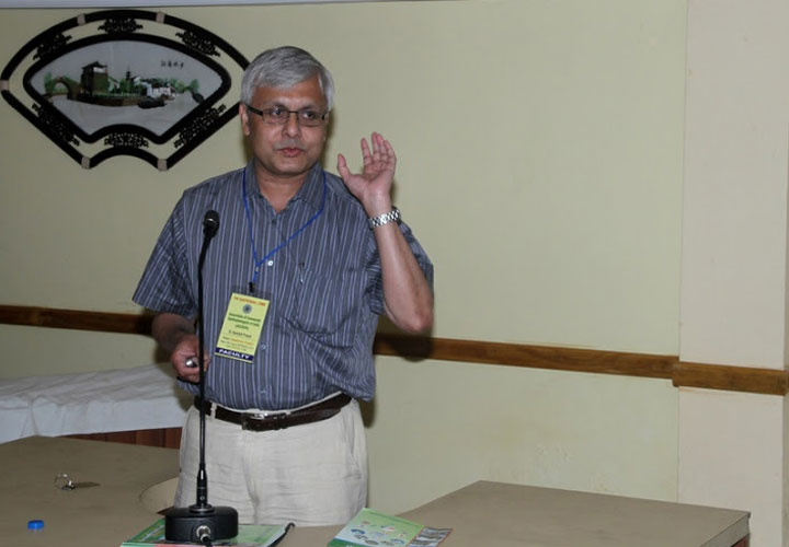 Dr Somdutt Prasad at the 7th National CME of ACOIN