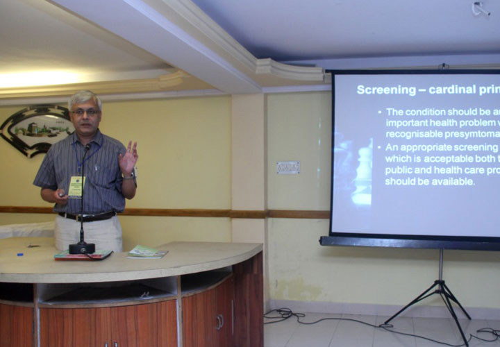 Dr Somdutt Prasad during his presentation at the 7th National CME of ACOIN