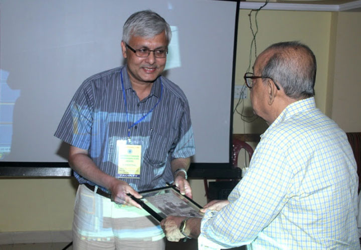 Dr Somdutt Prasad during a candid moment at the 7th National CME of ACOIN