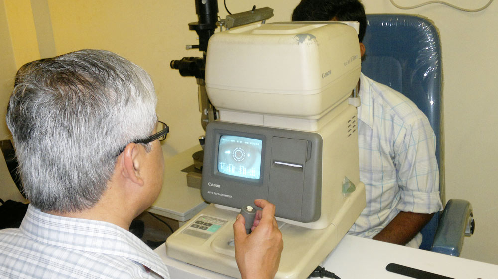 Thorough examination of eyes at i4vision